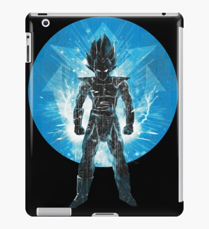 blue super sayan iPad Case/Skin