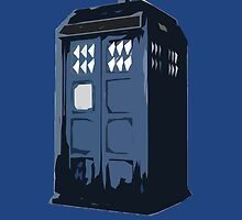 The BLUE Police Box - Tardis by HiddenCorner