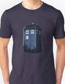 The BLUE Police Box - Tardis T-Shirt