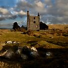 Abandoned Mine Building - Bodmin Moor by Samantha Higgs
