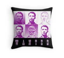 Self Portrait As Wanted Throw Pillow