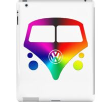 VW Bus hippie sunburst iPad Case/Skin