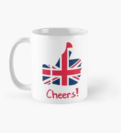 Funny Coffee Mug Gift - Cheers British Flag Thumb Mug