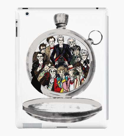 The clock strikes 12 iPad Case/Skin