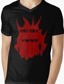 Naturally Fucked Up Mens V-Neck T-Shirt