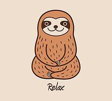 Cute Little Sloth by zoel