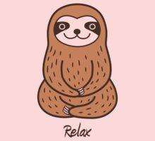 Cute Little Sloth One Piece - Long Sleeve