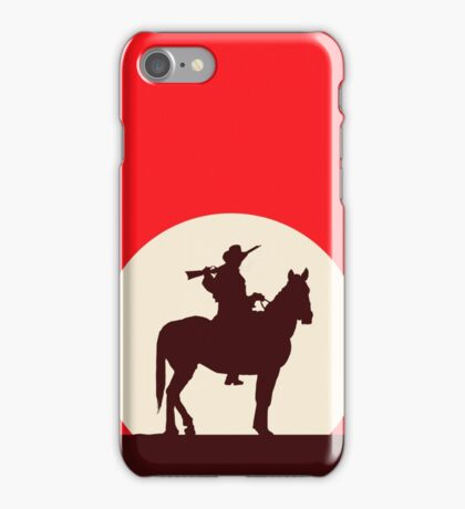 Red Dead Style iPhone Case/Skin