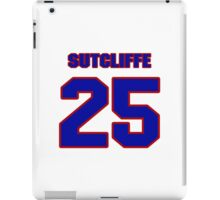 National baseball player Butch Sutcliffe jersey 25 iPad Case/Skin