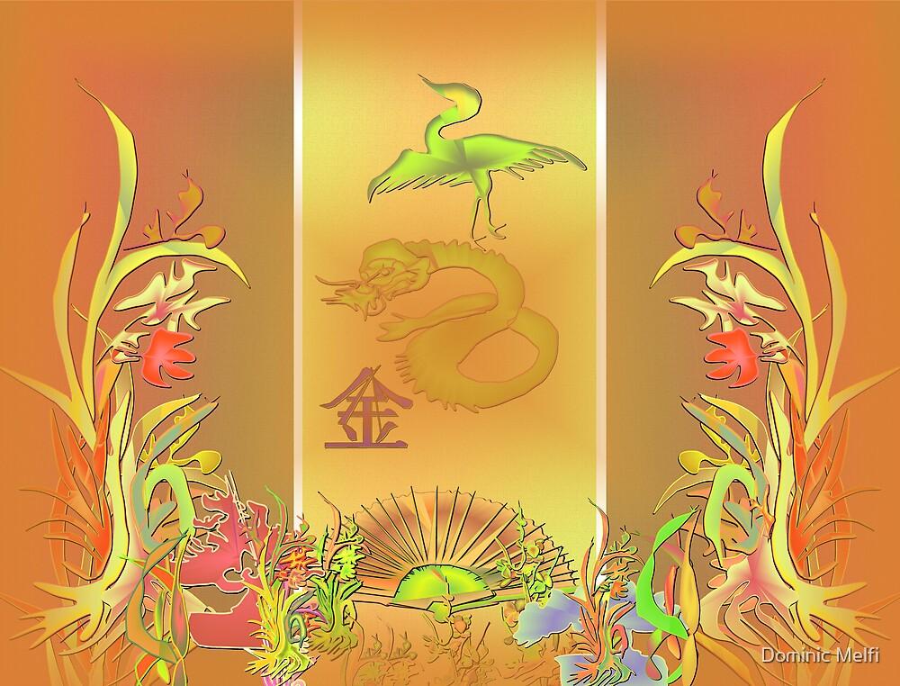 Oriental Panels by Dominic Melfi