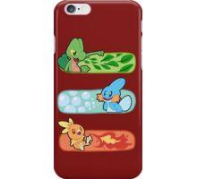 Pokemon / Hoenn Starters - Omega Ruby iPhone Case/Skin