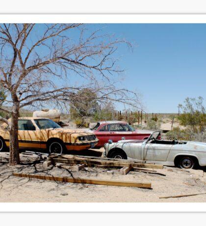 Joshua Tree Car Graveyard Sticker