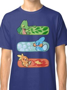 Pokemon / Hoenn Starters - Alpha Sapphire Classic T-Shirt