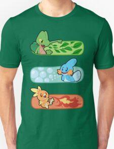 Pokemon / Hoenn Starters - Alpha Sapphire T-Shirt