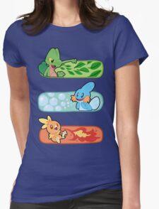 Pokemon / Hoenn Starters - Alpha Sapphire Womens Fitted T-Shirt