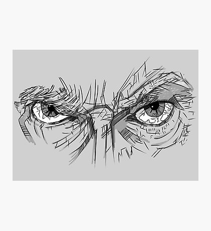 Doctor Who - Peter Capaldi Eyes - No Sir, All 13 Photographic Print
