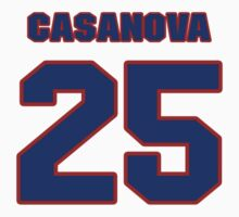 National baseball player Raul Casanova jersey 25 by imsport
