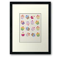 Muffins Framed Print