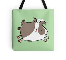 Leaping Guinea-pig ... Grey and White Tote Bag