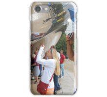 Tourists in the Rain iPhone Case/Skin