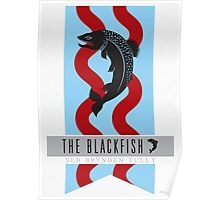 The Blackfish Brynden Tully Sigil Poster