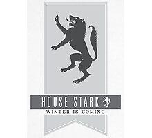 House Stark Sigil Photographic Print