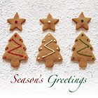 Iced Christmas trees by Sally Kate Yeoman