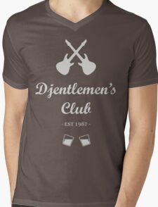 Djentlemen's Club Mens V-Neck T-Shirt