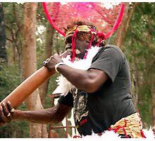 Aboriginal Mandala Halo Photographic Print