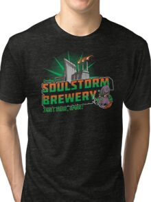 Greetings From Soulstorm brewery Tri-blend T-Shirt