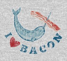 I Love Bacon by Quadj