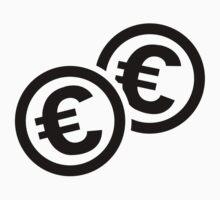 Euro coins by Designzz