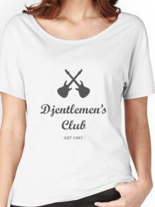 Djentlemen's Club Women's Relaxed Fit T-Shirt
