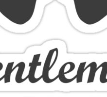 Djentlemen's Club Sticker