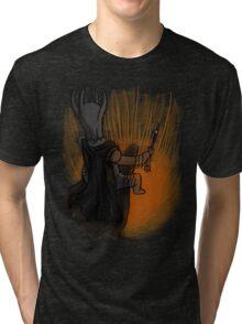 Sauron's Marshmallow Break Tri-blend T-Shirt