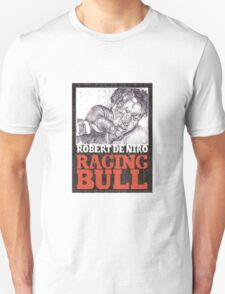 RAGING BULL hand drawn movie poster in pencil T-Shirt