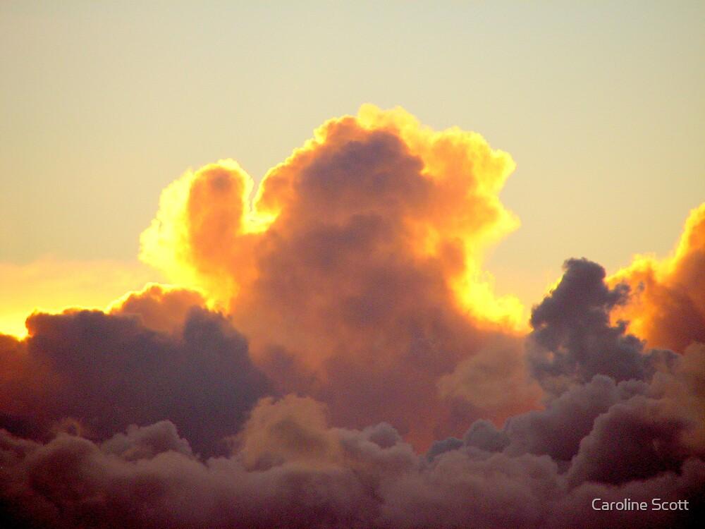Sunset Cloud by Caroline Scott