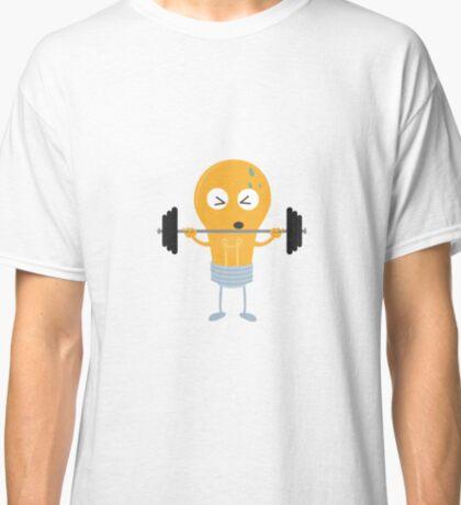 Fitness light bulb with weight R1zu3 Classic T-Shirt