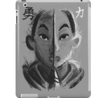 In Courage, Strength iPad Case/Skin