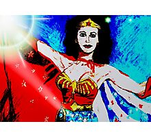 Wonderwoman Photographic Print
