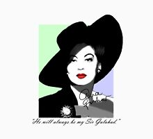 """He will always be my Sir Galahad.""  Womens Fitted T-Shirt"