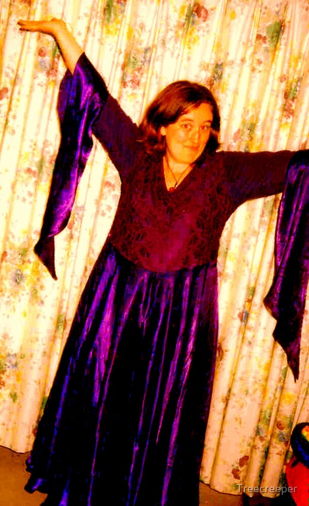 Purple Dress by Treecreeper