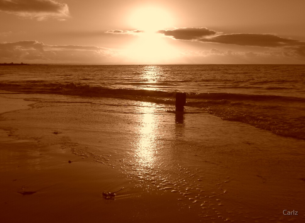 Sepia Sunset by Carlz