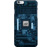 Intel Motherboard iPhone Case/Skin