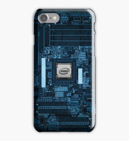 Intel Motherboard iPhone Case/Skin
