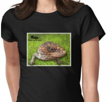 Tiliqua Rugosa Rugosa Womens Fitted T-Shirt