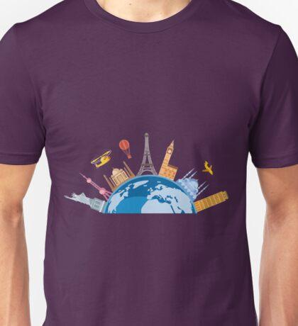 Travel The Globe 1 Unisex T-Shirt
