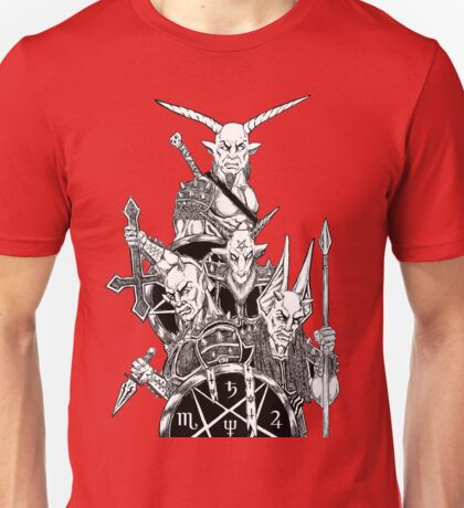 Infernal Army Red Unisex T-Shirt