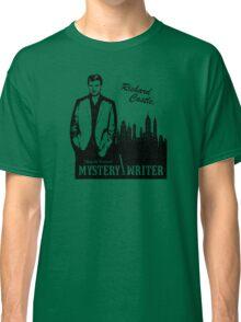 Richard Castle, Mystery Writer Classic T-Shirt