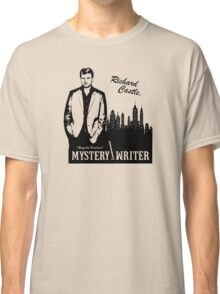 Richard Castle, Mystery Writer Classic T-Shirt